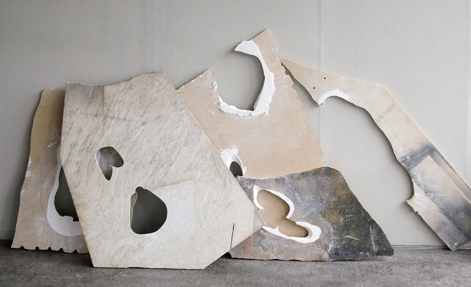 Fleeting Parts By Milena Naef artwork modern art marble