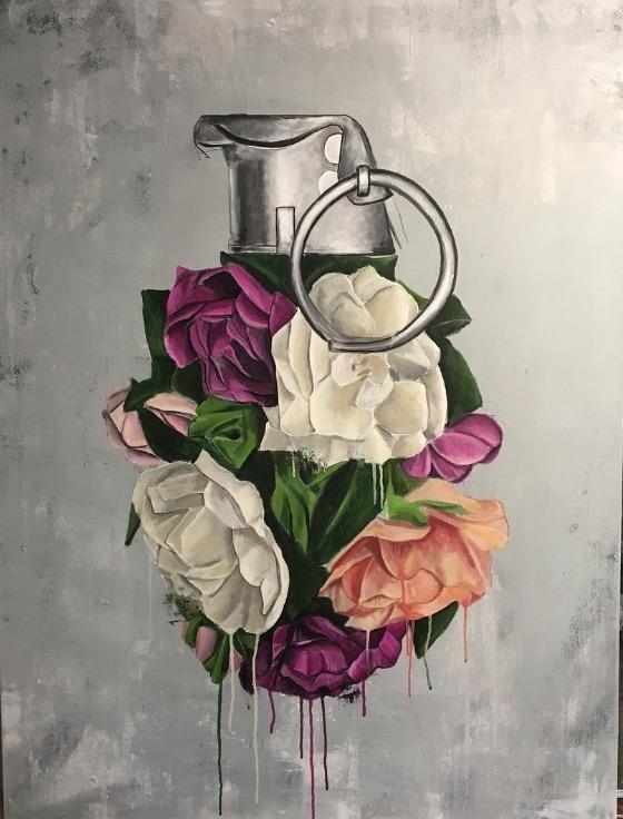 Sage Barnes Painting