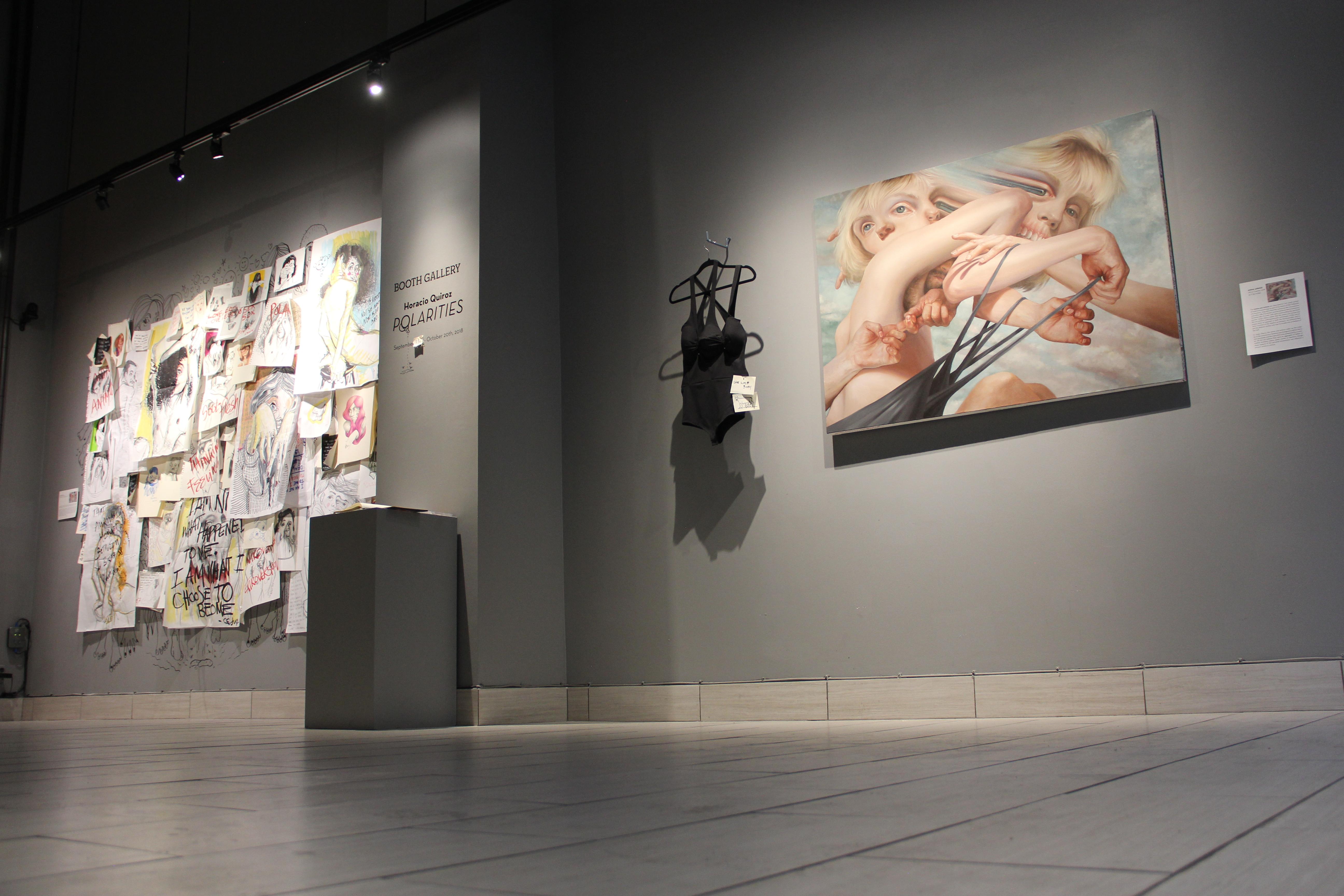 Horacio Quiroz Polarities Booth Gallery Myartisreal Interview, art show new york city