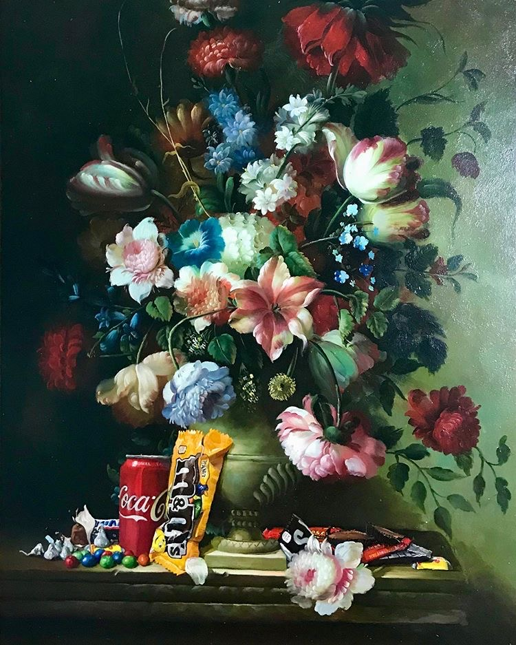 Still life painting By Dave Pollot