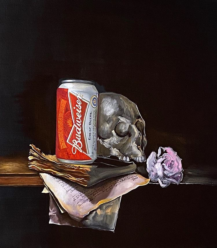 dave pollot still life painting