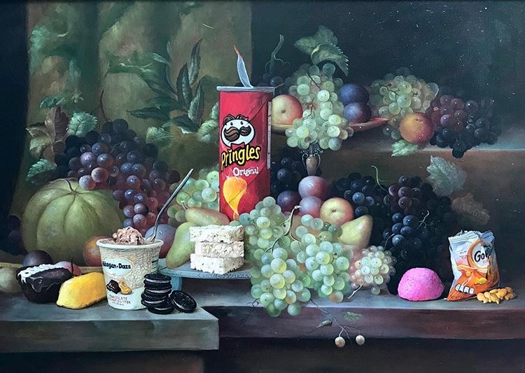 Still life painting By Dave Pollot Myartisreal magazine contemporary art
